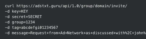 ads.txt API integration