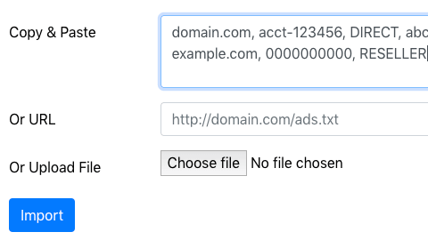 ads.txt import